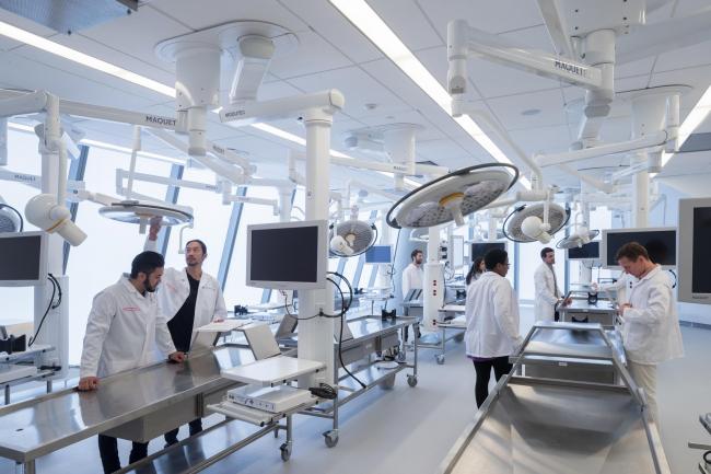 Учебный центр четы Вагелос Медицинского центра Колумбийского университета © Iwan Baan