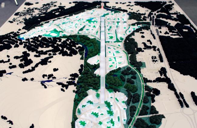 Жилой район на 140 000 жителей в районе аэропорта Ростова-на-Дону. Антони Бешу. Фотография © Юлия Тарабарина