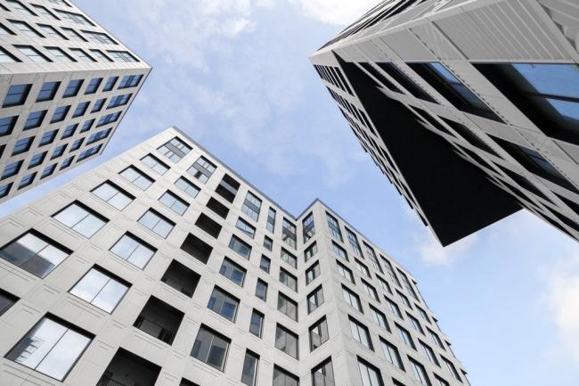 Комплекс Atlantic Apartments на Можайском валу в Москве © Speech