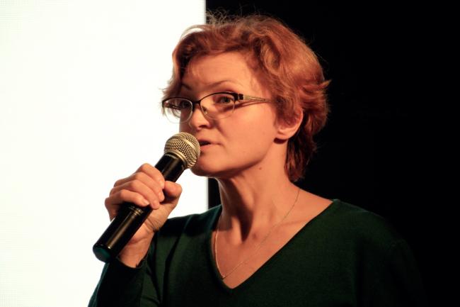 Елена Петухова, менеджер специальных проектов СМА. Фотография © Юлия Тарабарина, Архи.ру