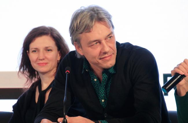 Юлия Бурдова, BUROMOSCOW и Денис Кусенков, ARTEZA. Фотография © Юлия Тарабарина, Архи.ру