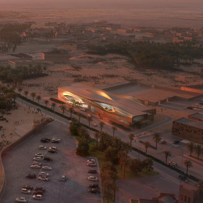 Центр управления городским наследием © Zaha Hadid Architects