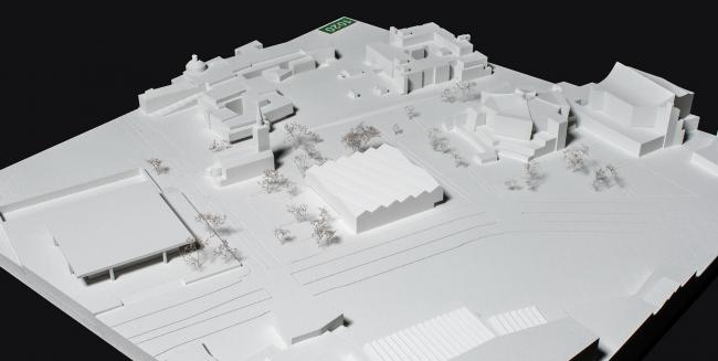 Музей XX века © Bruno Fioretti Marquez Architekten, capatti staubach Landschaftsarchitekten / Winfried Mateyka