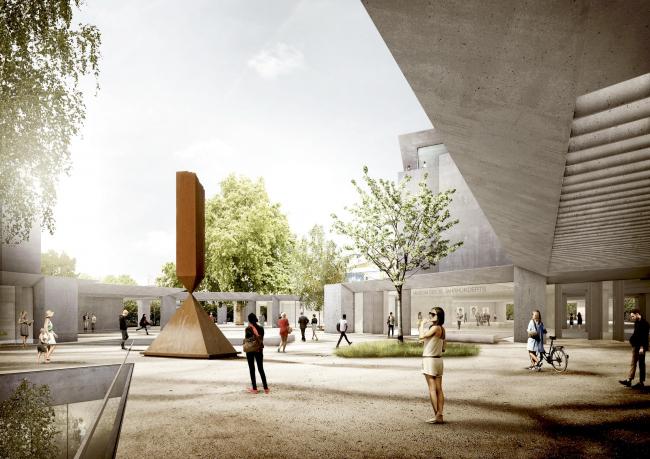 Музей XX века © Staab Architekten GmbH, Levin Monsigny Landschaftsarchitekten