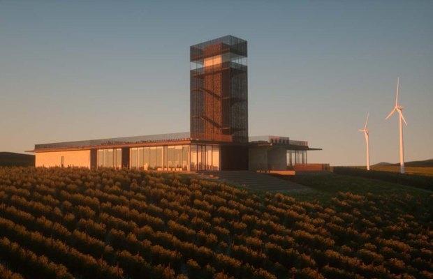 Винодельня «Шато Гай-Кодзор» © Kleinewelt architekten