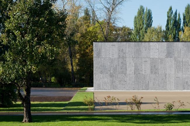 Павильон Департамента информационных технологий на ВДНХ © Архитектурное бюро WALL