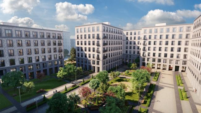 Квартал на Садовой «I'M». Изображение с сайта www.psngroup.ru