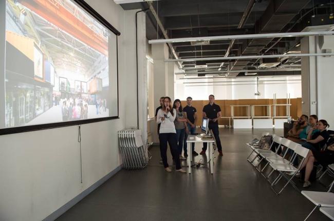 Презентация проекта в школе МАРШ