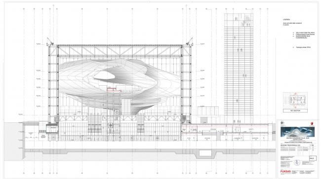 Новый конгресс-центр района EUR – «Облако» © Studio Fuksas