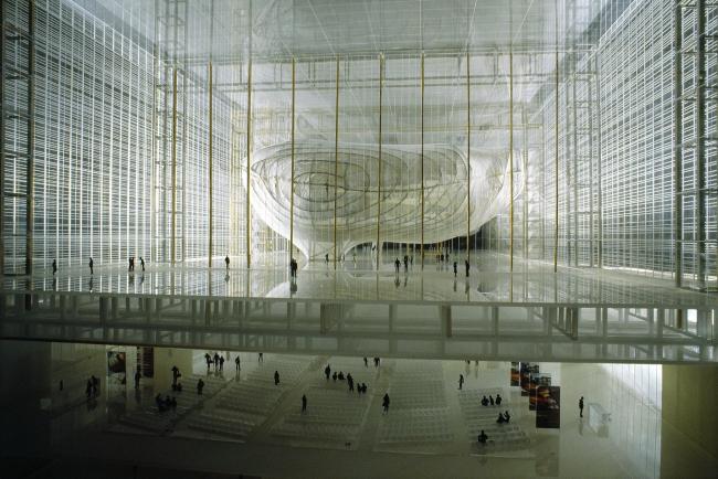 Новый конгресс-центр района EUR – «Облако» © Francesco Colarossi