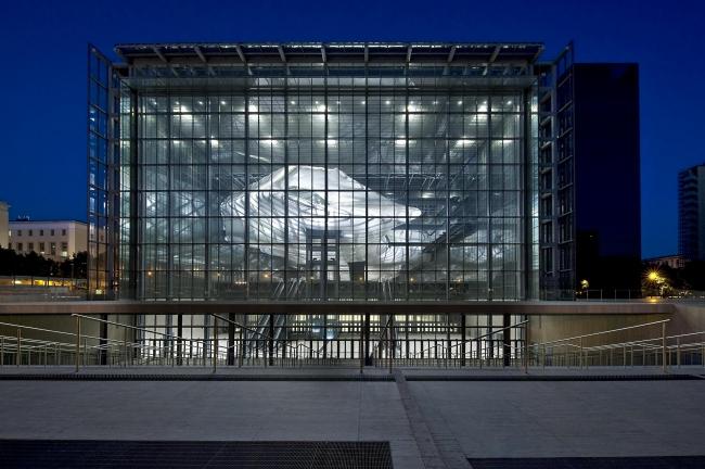 Новый конгресс-центр района EUR – «Облако» © Moreno Maggi