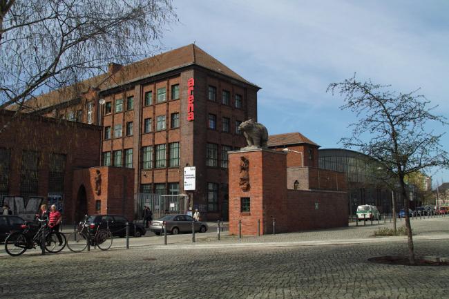 Внешний вид здания Arena Berlin. Изображение предоставлено http://musictour.eu
