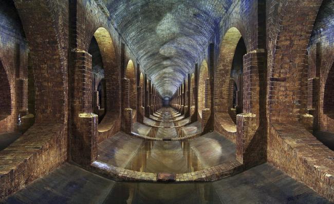 Категория «Интерьер». Автор: Matt Emmett. Крытое водохранилище в парке Финсбери (Лондон, Великобритания). Архитектурное бюро: East London Water Works Company 1868