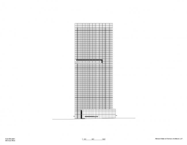 Башня 685 First Avenue © Richard Meier & Partners Architects