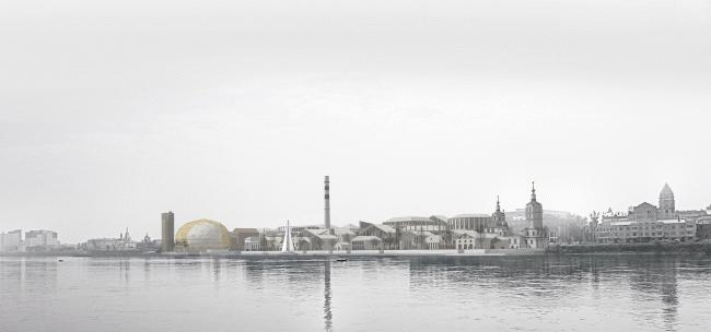 Концепция «Квартала XXI века» в Иркутске © Студия 44