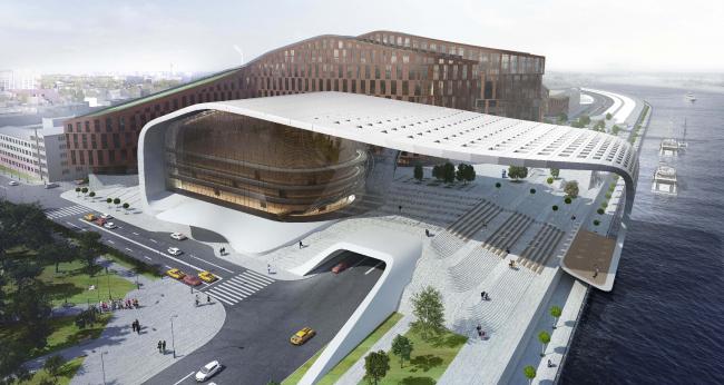 Концепция «Квартала XXI века» в Иркутске © Институт «Горпроект»