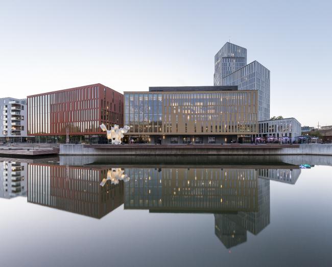 Комплекс Malmö Live (Мальмё, Швеция).  Schmidt Hammer Lassen Architects. Изображение предоставлено WAF