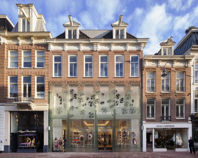 Магазин Crystal Houses (Амстердам, Нидерланды). MVRDV. Изображение предоставлено WAF