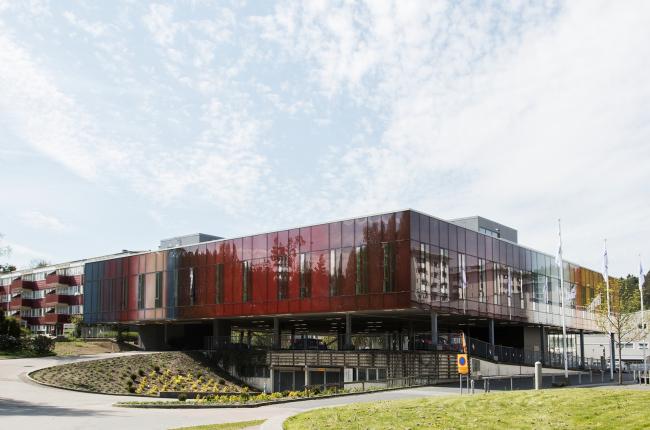 Клиника Nötkärnan (Гётеборг, Швеция). Wingårdh Arkitektkontor. Изображение предоставлено WAF