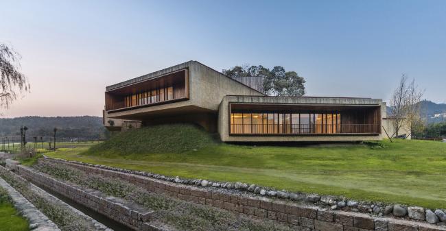 Комплекс Fushengyu Hotspring Resort   (Мяньян, Китай). Aim Architecture. Изображение предоставлено WAF