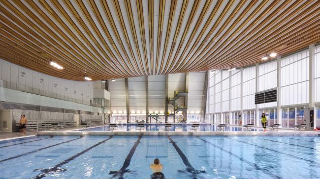 Центр водных видов спорта Grandview Heights (Суррей, Канада).  HCMA Architecture + Design. Изображение предоставлено WAF