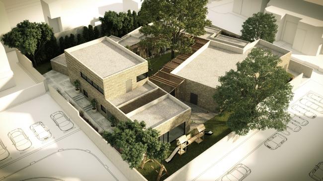 Центр для жертв домашнего насилия (Израиль).  Amos Goldreich Architecture. Изображение предоставлено WAF