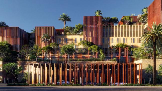 Комплекс Uptown (Мекка, Саудовская Аравия).  Design and More International. Изображение предоставлено WAF