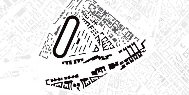 Пространственно-планировочная организация ТПУ Белорусского вокзала. Шварц-план. Дипломный проект Маргариты Асирян. Руководитель: Евгений Русаков. Факультет Градостроительства, 11 группа. МАРХИ, 2016