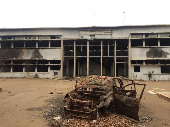 Разрушенный в 2014 Парламент. Фото предоставлено Kéré Architecture