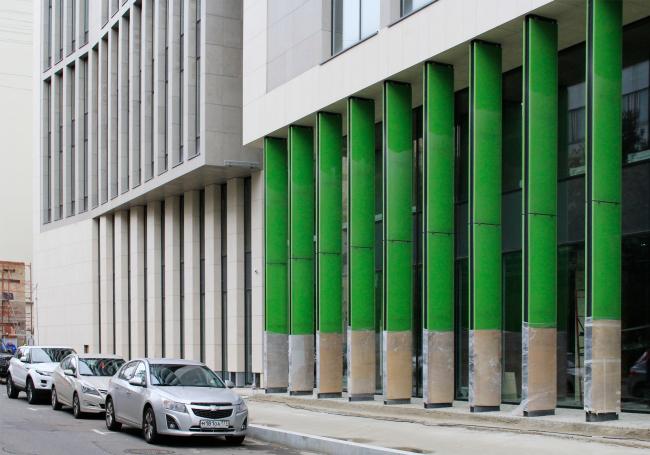 Деловой центр на улице Красина. ТПО «Резерв», реализация, 2016. Фотография © Юлия Тарабарина, Архи.ру