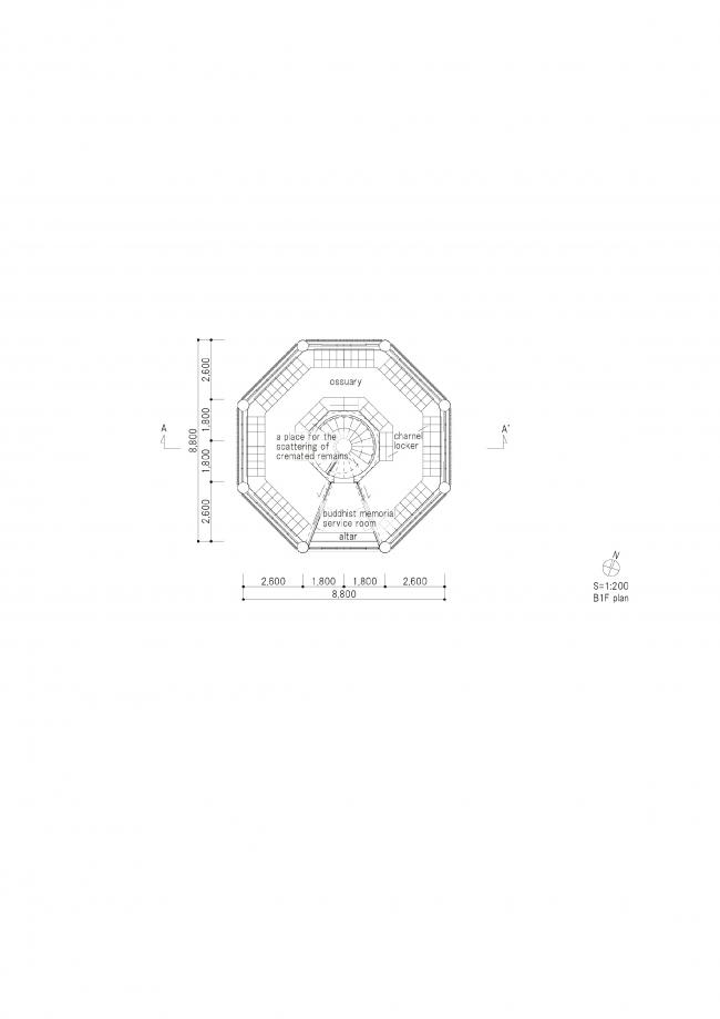 Часовня-оссуарий Хассодэн © Love Architecture