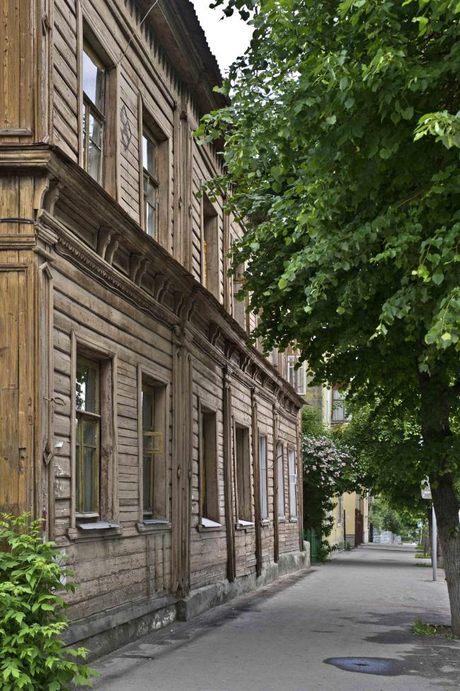 Дом по ул. Вознесенская, 40. Фотография предоставлена Игорем Кочетковым
