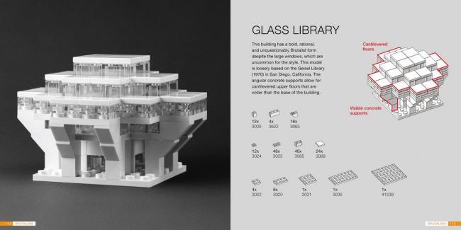 Разворот книги «Lego-архитектура». Изображение с сайта flickr.com. Автор: Brickset. Лицензия CC BY 2.0