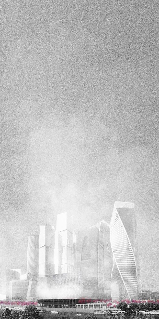 Бани в Сити. Дипломный проект Анастасии Калмыковой. Руководители: Александр Цимайло и Николай Ляшенко. 15 группа. МАРХИ, 2016