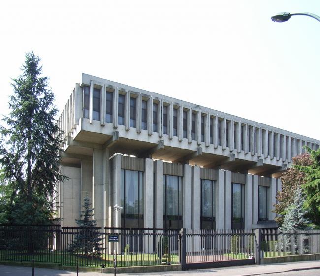 Здание Посольства России в Париже. Автор: RJG. Лицензия: CC BY-SA 2.0