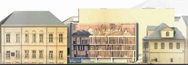 Проект реставрации Государственного музея архитектуры имени А.В. Щусева © Архитектурное бюро «Проект Меганом»