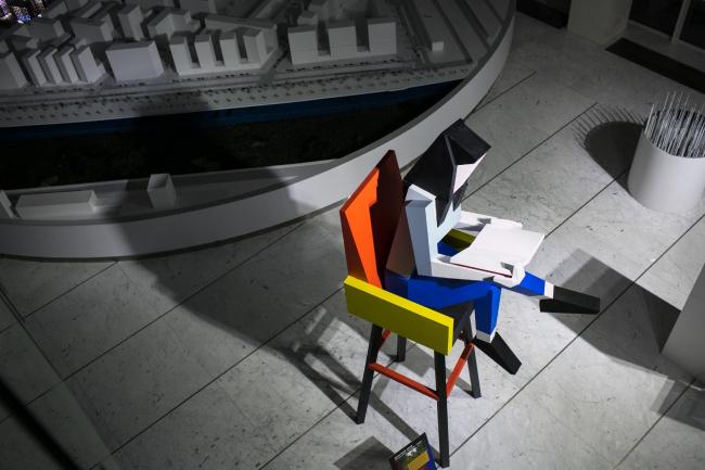 Скульптура «Знание – сила». Автор:  Дмитрий Аске