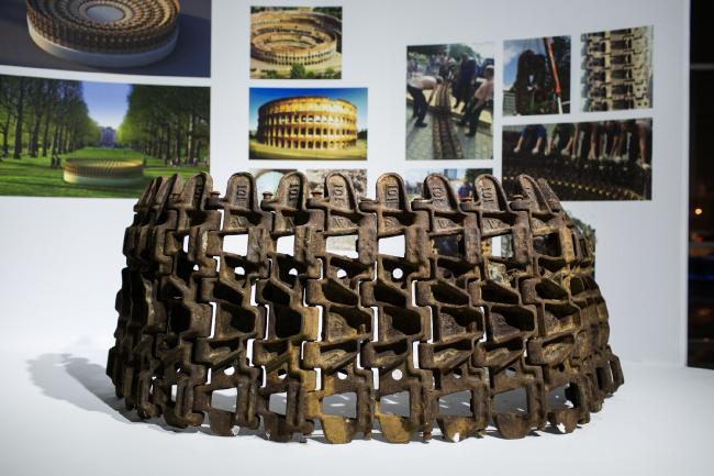 Инсталляция «Колизей». Автор:  Татьяна Хэнгстлер