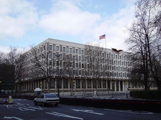 Посольство США в Лондоне. 2007 год. Фото: Veedar at English Wikipedia. Фото – общественное достояние