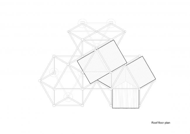 Plugin Tower, проект. Вид сверху © People's Architecture Office