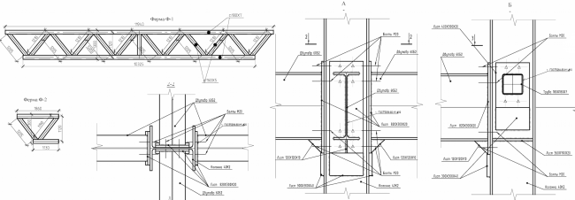 Реконструкция кондитерско-булочного комбината «Простор». Фермы. Проект, 2015 © Архстройдизайн