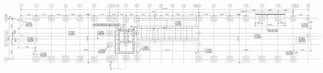 Реконструкция кондитерско-булочного комбината «Простор». Здание морозильного склада и склада упаковочных материалов. Проект, 2015 © Архстройдизайн