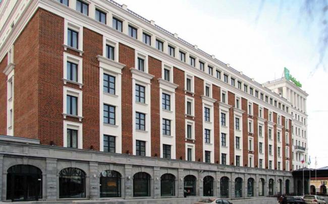 Отель HOLIDAY INN. Фотография предоставлена Wienerberger