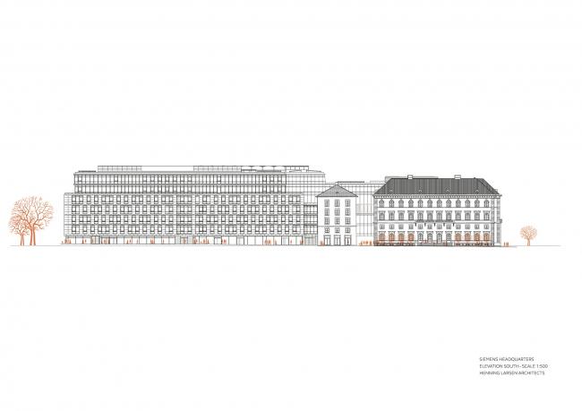 Штаб-квартира Siemens в Мюнхене © Henning Larsen Architects