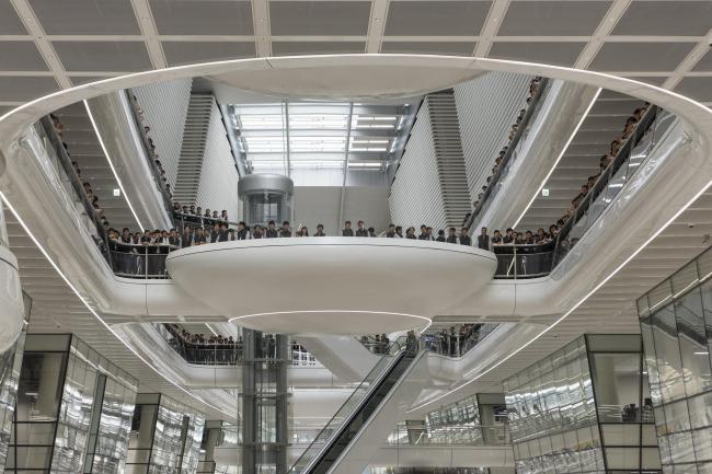 Исследовательский центр Hankook Technodome © Foster + Partners