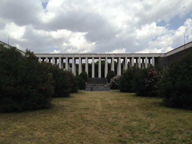 Музей римской цивилизации в районе EUR © Анна Броновицкая