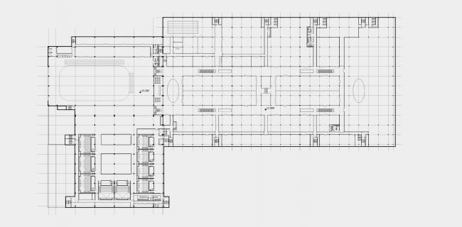 Торговый центр «Рига Молл». План 2-го этажа © ТПО «Резерв»