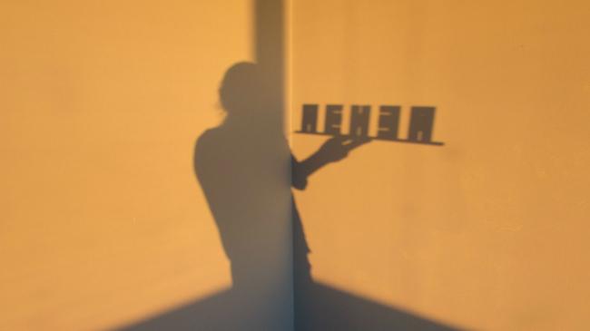 Объемные буквы «Пенза». Тень макета © Объединение архитекторов «Вещь!»