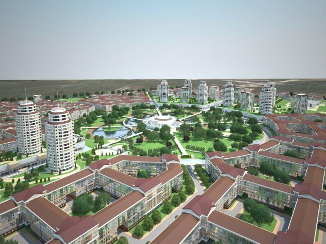 Жилой район «Славянка» – кварталы 2,3,5 и 6 © Архитектурная мастерская Цыцина