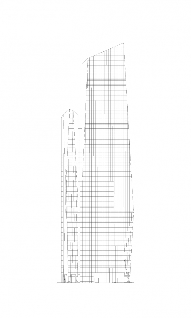 Башня Prism Tower © Agence Christian de Portzamparc